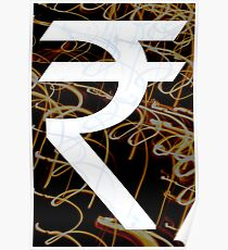 Indian Rupee  Poster