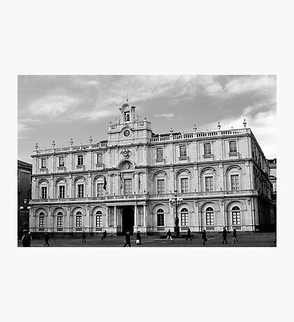 University square Photographic Print