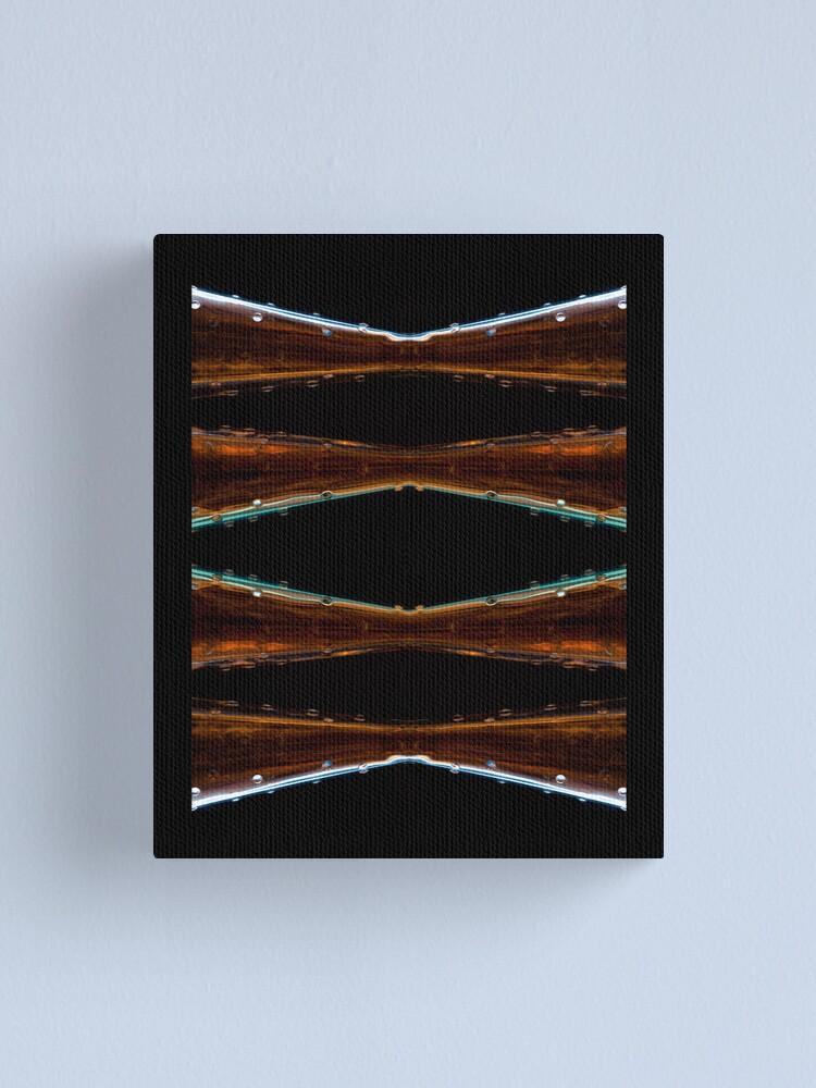 Alternate view of Ode to glass (13) / calendar title page Canvas Print