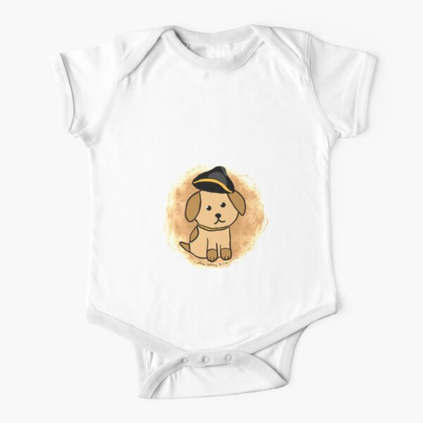 Revolutionary Dog Short Sleeve Baby One-Piece