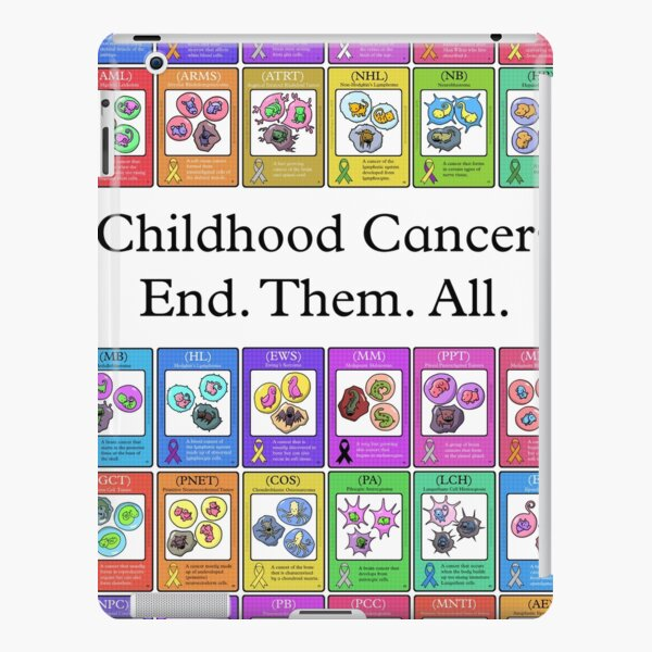 Childhood Cancers End Them All iPad Snap Case