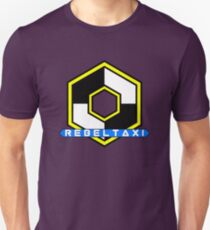 Rebel Taxi logo 3 T-Shirt