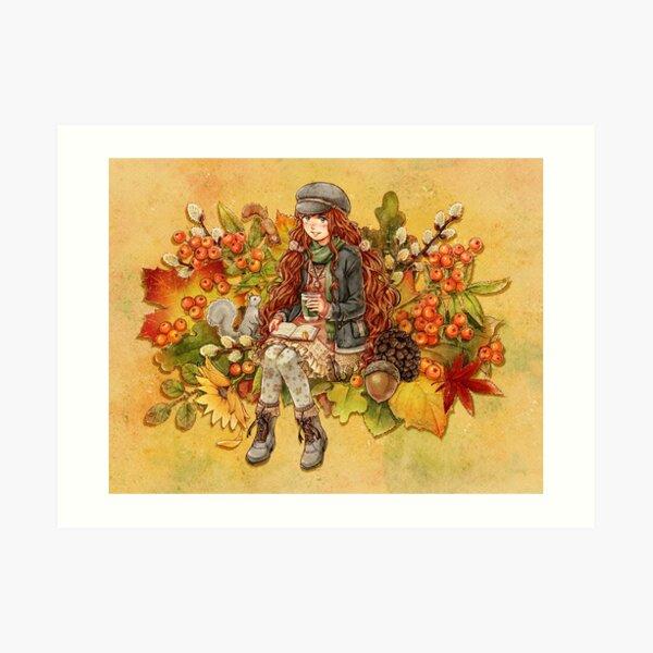 Cozy Autumn Art Print