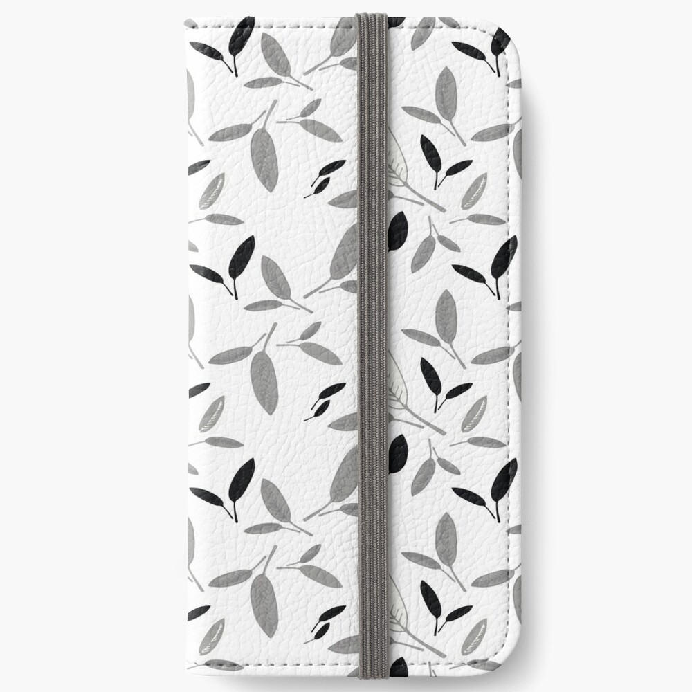 Shades of Leaf iPhone Wallet