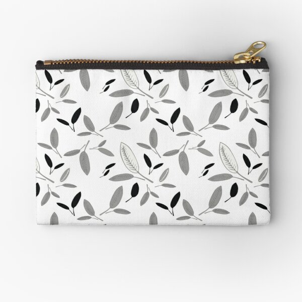 Shades of Leaf Zipper Pouch