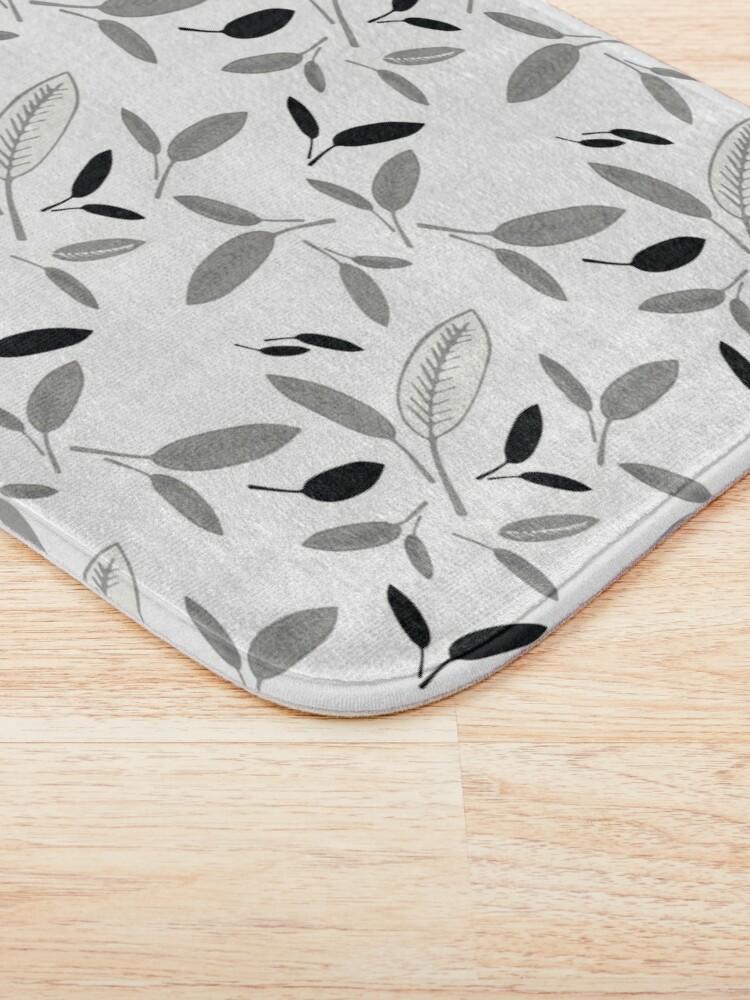 Alternate view of Shades of Leaf Bath Mat