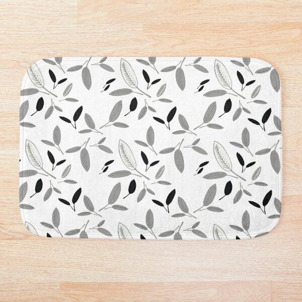 Shades of Leaf Bath Mat