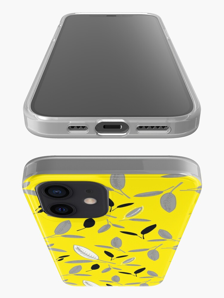 Alternate view of Yellow Shades of Leaf iPhone Case & Cover