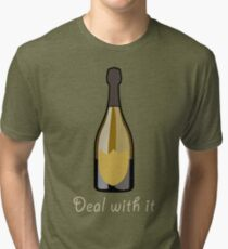 Deal With It Tri-blend T-Shirt