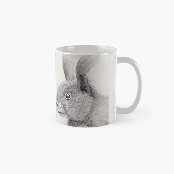 Squirrel Art Monochrome Sketch Classic Mug