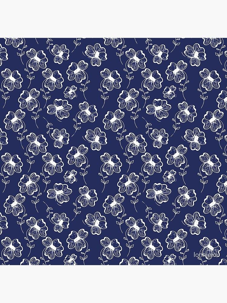 True Blue Pretty Pansy by lonnielou