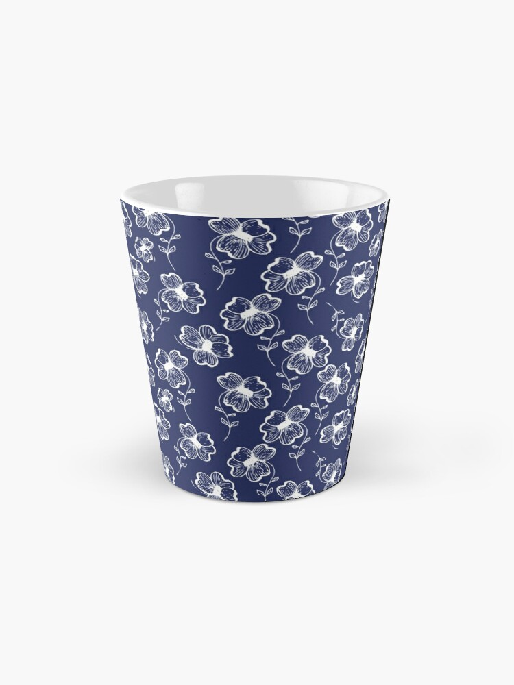 Alternate view of True Blue Pretty Pansy Mug