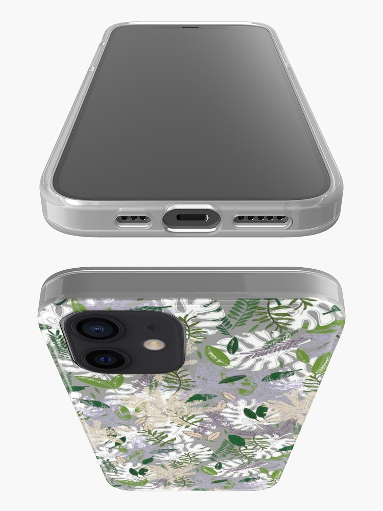 Alternate view of Whispy Botanicals Lavender iPhone Case & Cover