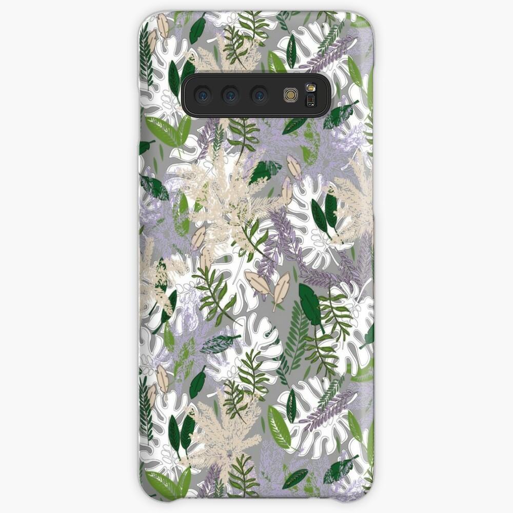 Whispy Botanicals Lavender Case & Skin for Samsung Galaxy