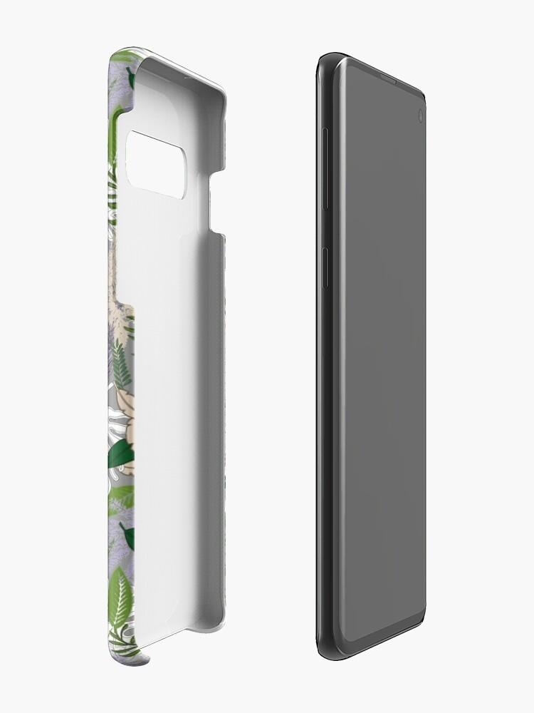 Alternate view of Whispy Botanicals Lavender Case & Skin for Samsung Galaxy