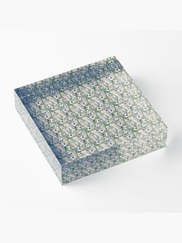 Alternate view of Whispy Botanicals Lavender Acrylic Block