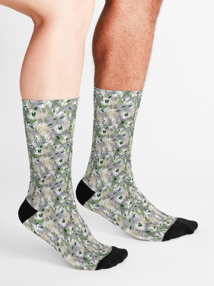 Alternate view of Whispy Botanicals Lavender Socks