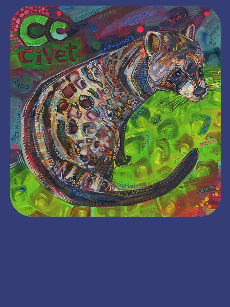 C Is for Civet - 2020 by gwennpaints