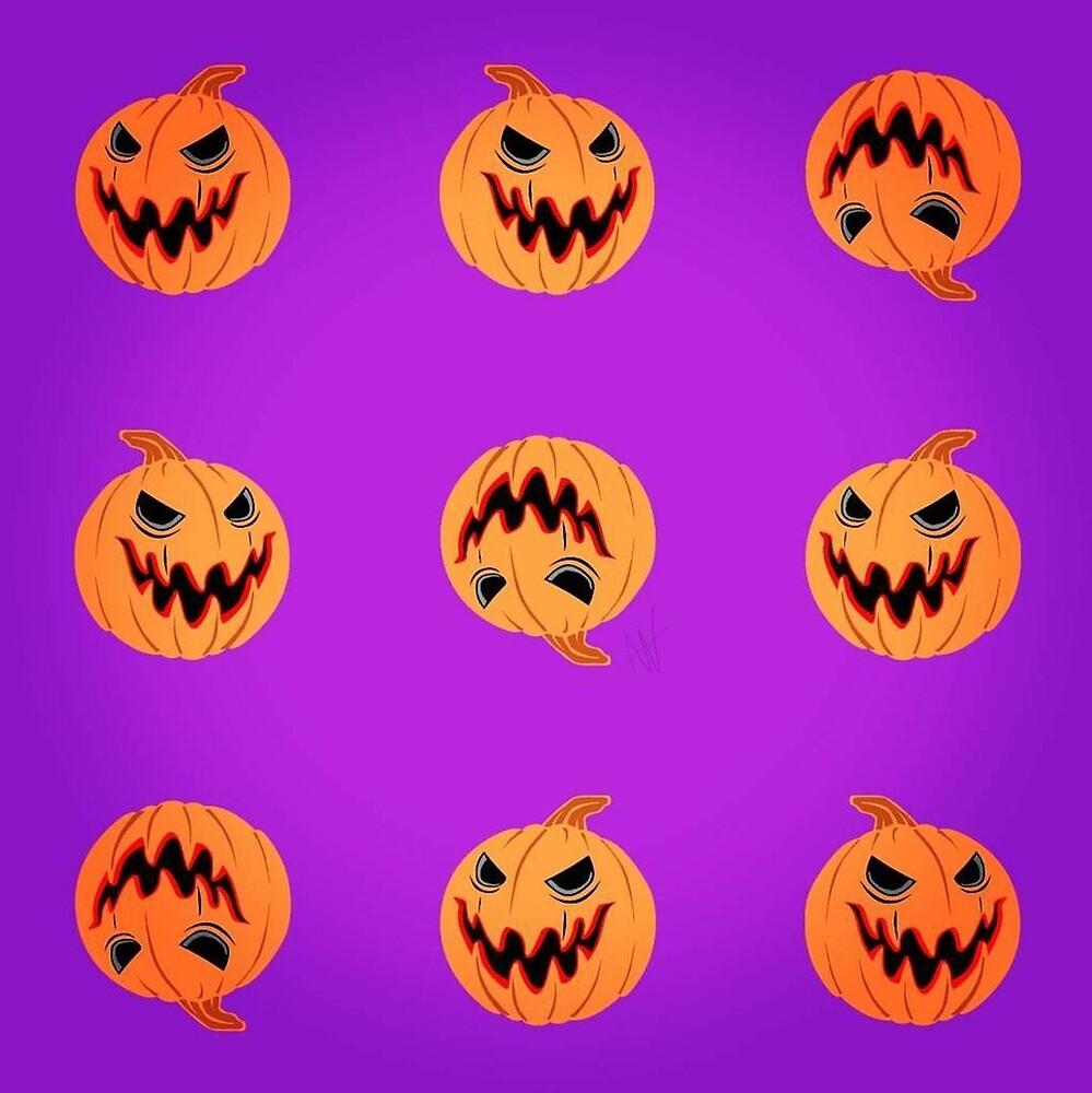 Pumpkin Halloween by anoliworld