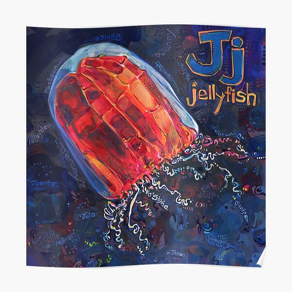J Is for Jellyfish - 2020 Poster