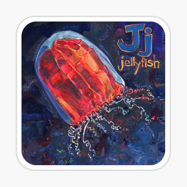 J Is for Jellyfish - 2020 Sticker
