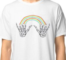 Louis Tomlinson Double Rainbow Hands Classic T-Shirt