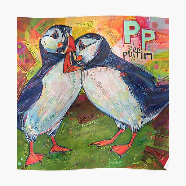 P Is for Puffin - 2020 Poster