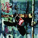 Urban Scrawls Graffiti - Monkey Business by Michael Murray