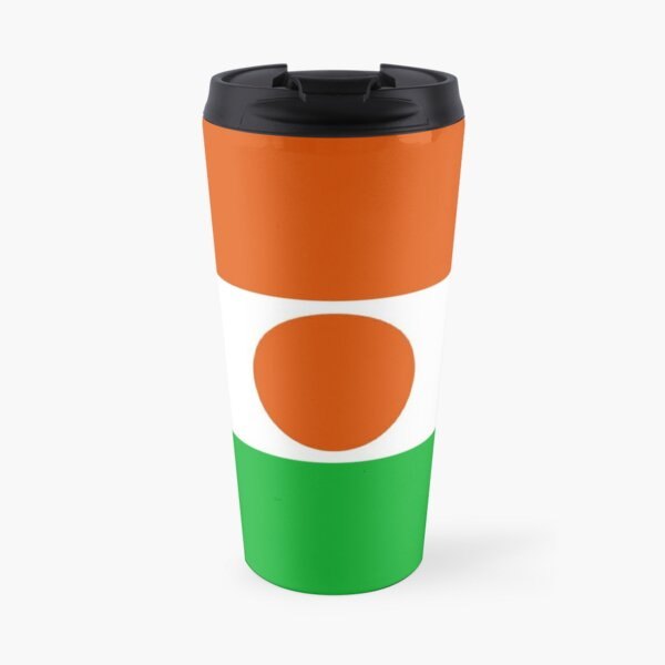 Niger Flag Travel Mug