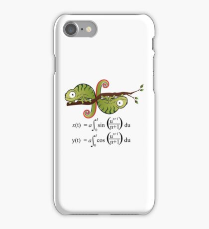 Euler Spiral iPhone Case/Skin