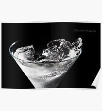Ice in alcohol... Poster