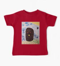 Bird Makes Fancy Self Portrait Baby Tee