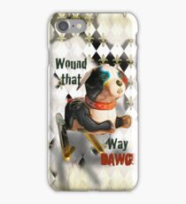 Wound that way DAWG! IPhone case,by Alma Lee iPhone Case/Skin