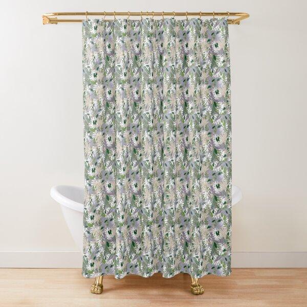 Whispy Botanicals Lavender Shower Curtain