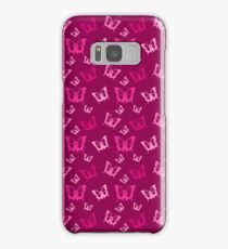 Breast Cancer Butterfly Ribbons Samsung Galaxy Case/Skin