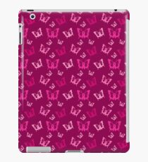 Breast Cancer Butterfly Ribbons iPad Case/Skin