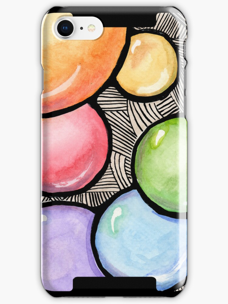Bubble Gum Phone Case by Amy-Elyse Neer