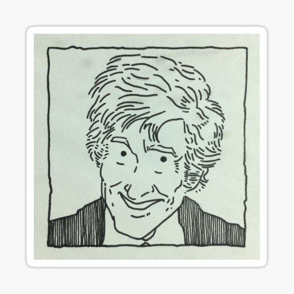 The Third Doctor Sticker