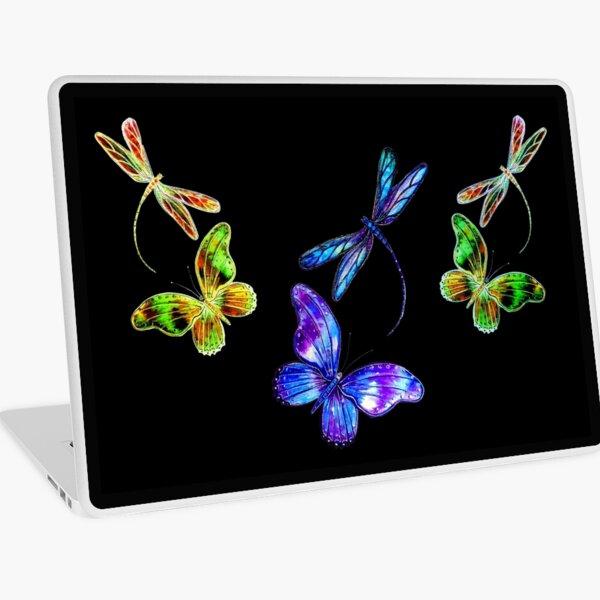 Dragonflies and Butterflies Laptop Skin
