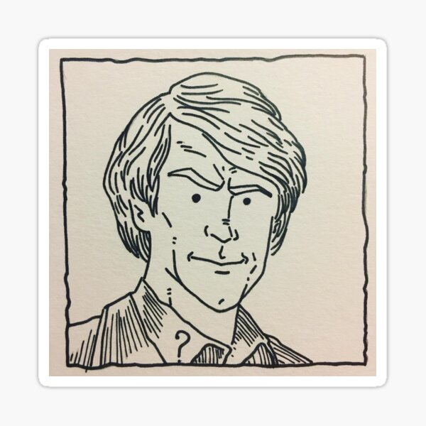 The Fifth Doctor Sticker