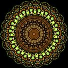 Stained Glass Kaleidoscope. by Lee d'Entremont