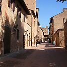 The Street Of Giovanni Boccaccio by Fara