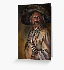 The Tombstone Bandito Greeting Card