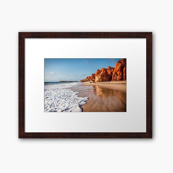 Cape Leveque Sunset Framed Art Print