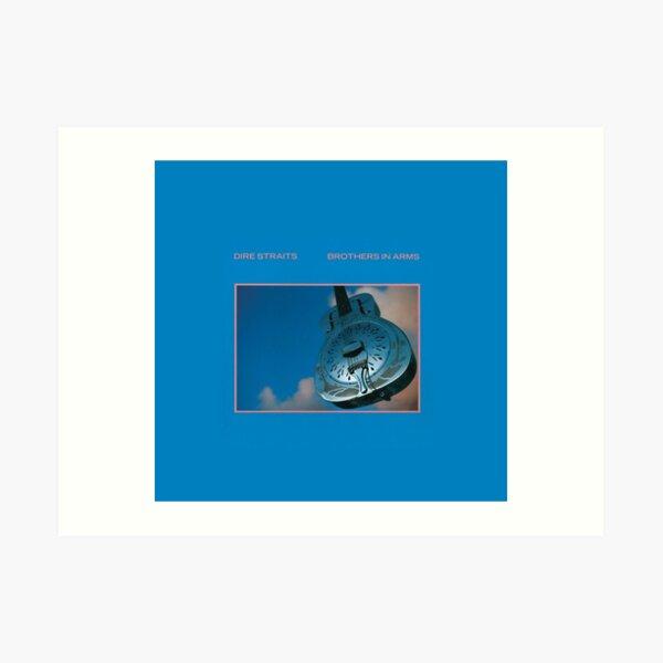 Dire Straits - Brothers In Arms (álbum) Lámina artística
