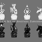 Chess Set by Anthropolog