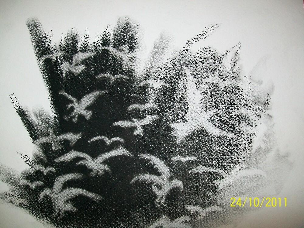Din of Celestial Birds 1 by Decembersend