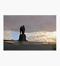Commando Memorial Photographic Print