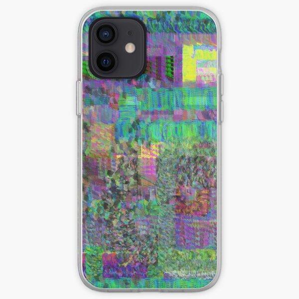 """oeuvre numérique de """"re / deconstruction"""" pour les coques et les skins Coque souple iPhone"""