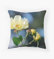 Belle Rose Throw Pillow